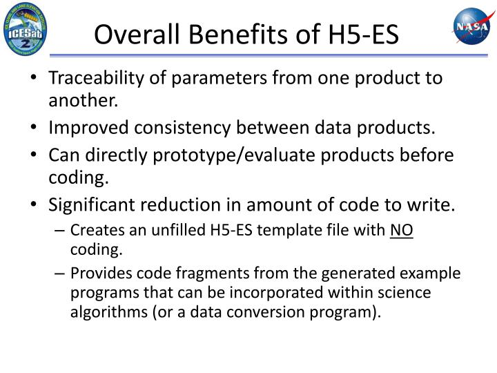 Overall Benefits of H5-ES