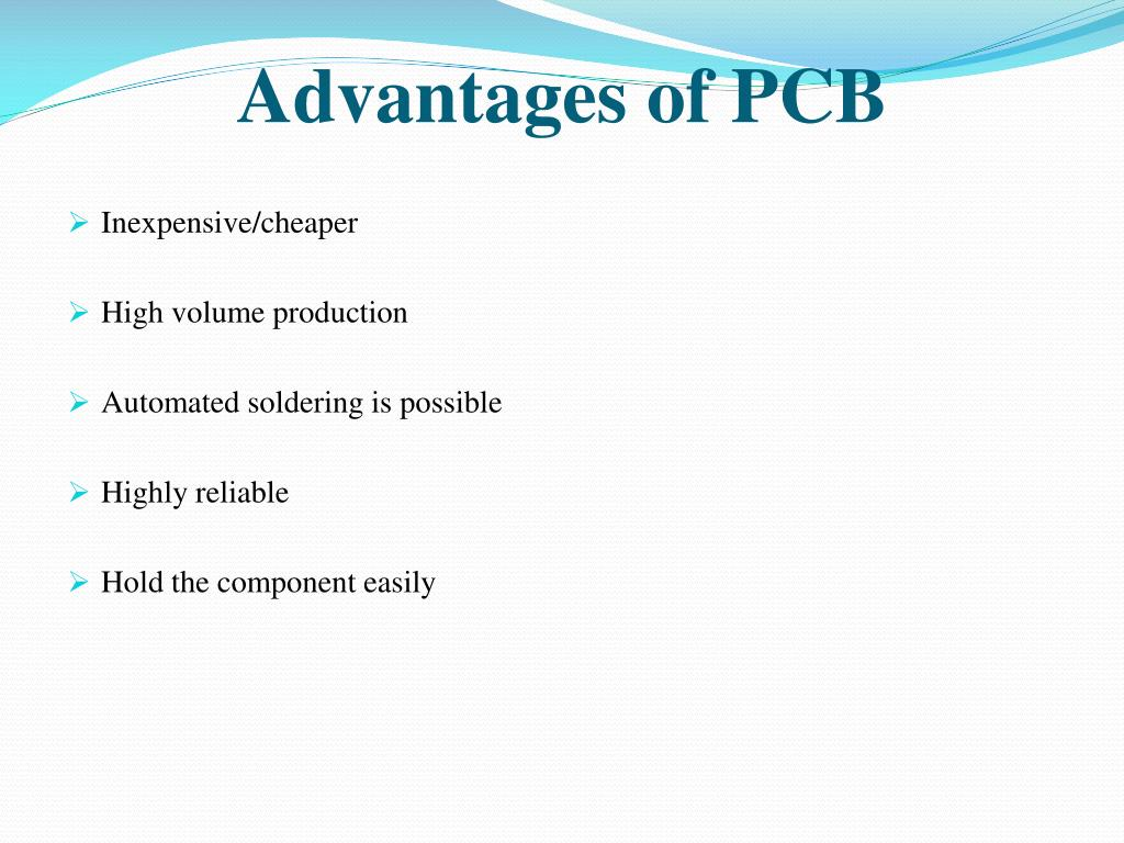 advantages-of-pcb-l Which Wiring Is Used For Temporary Purpose on