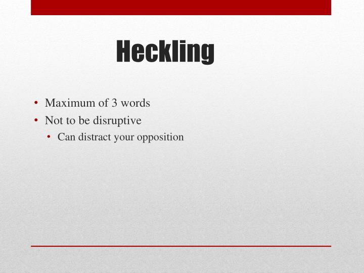 Maximum of 3 words