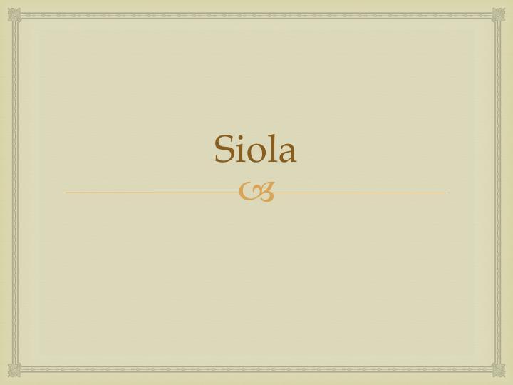 Siola