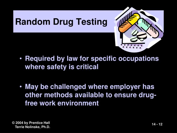is drug testing an unwarranted invasion of employee privacy essay I don't believe drug testing should be considered unwarranted invasion of employee privacy and it is very important to get drugs out of the workplace, but this does come with caution having the test done first before employment lets the applicant know that the organization does not permit drugs at work.