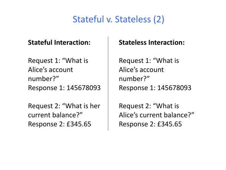 Stateful