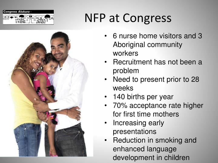 NFP at Congress