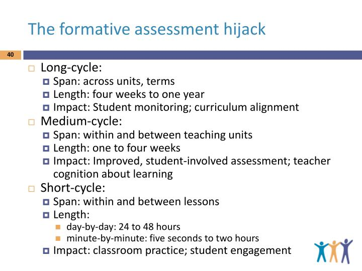 The formative assessment hijack