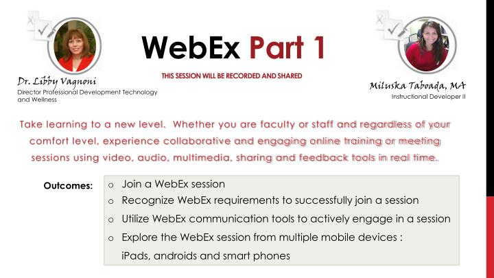 how to download video from a recorded webex session