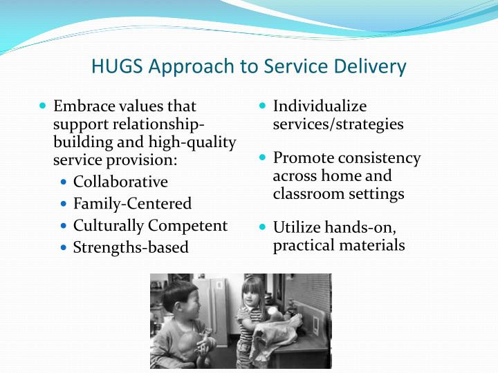 HUGS Approach to Service Delivery