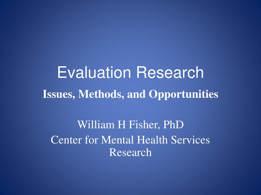 Ppt Evaluation Research Powerpoint Presentation Id 1883587