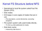 kernel fs structure before nfs