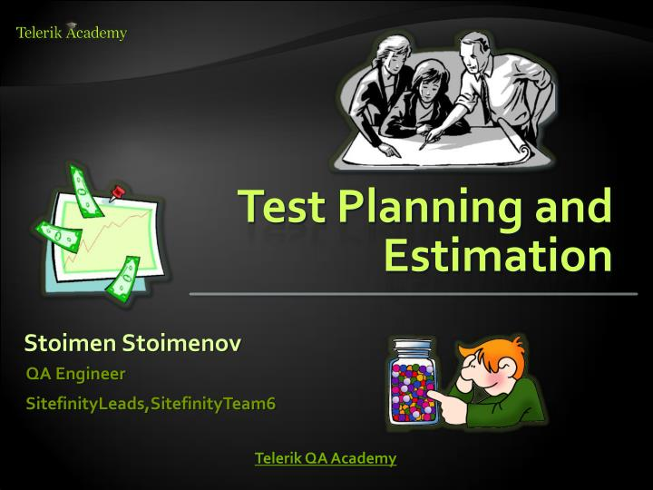 test planning and estimation n.