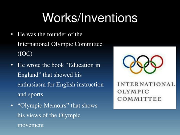 Works/Inventions