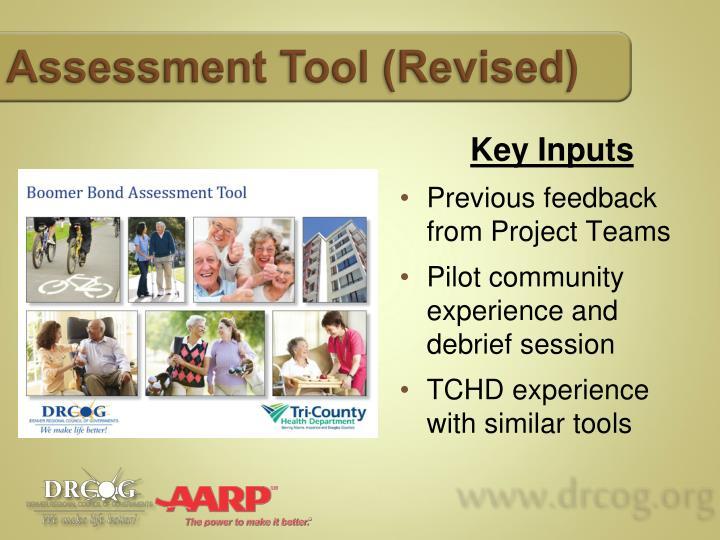 Assessment Tool (Revised)
