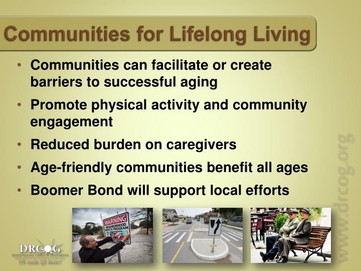 Communities for Lifelong Living