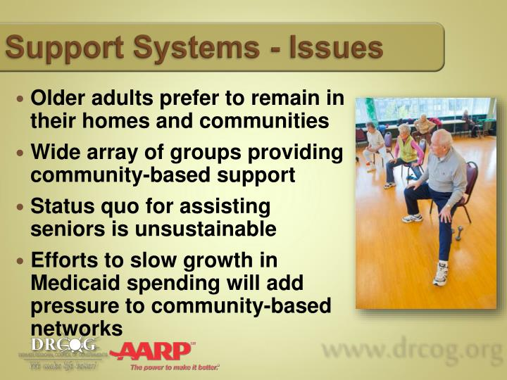 Support Systems - Issues