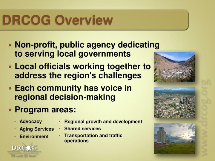 DRCOG Overview