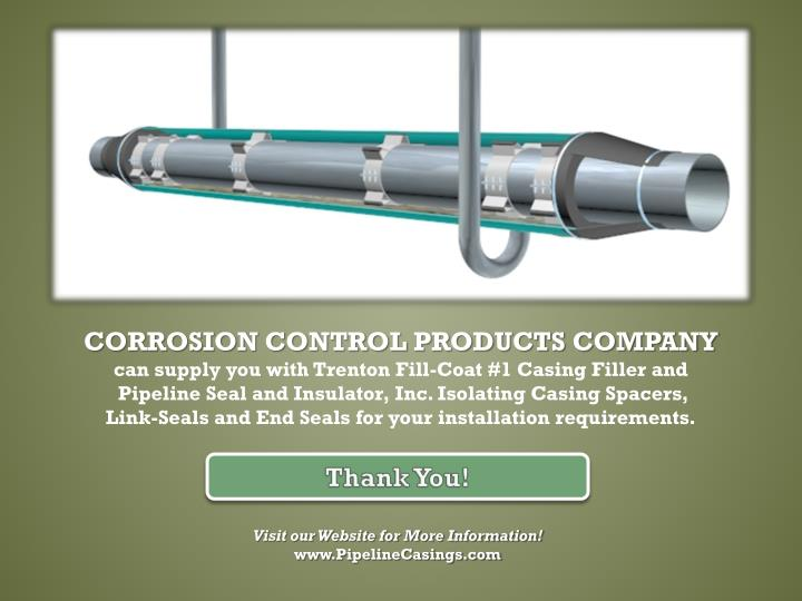 CORROSION CONTROL PRODUCTS COMPANY