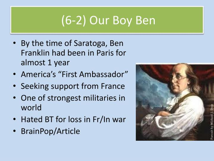 (6-2) Our Boy Ben