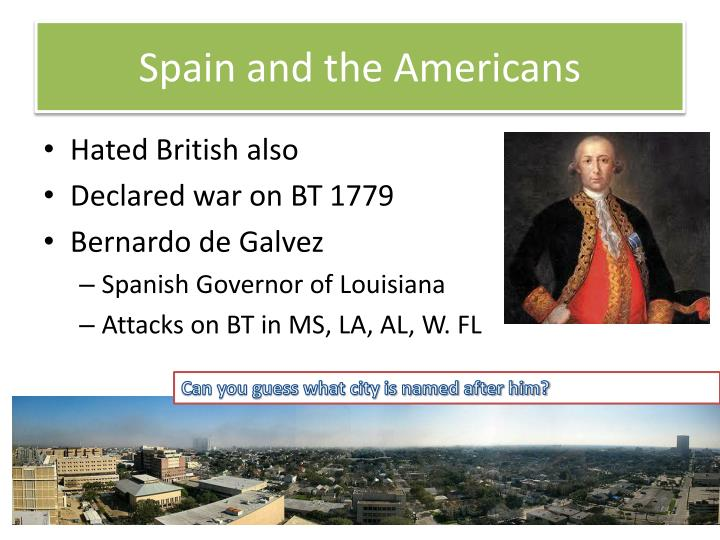 Spain and the Americans