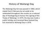 history of waitangi day4