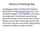 history of waitangi day5
