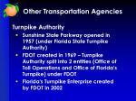other transportation agencies4