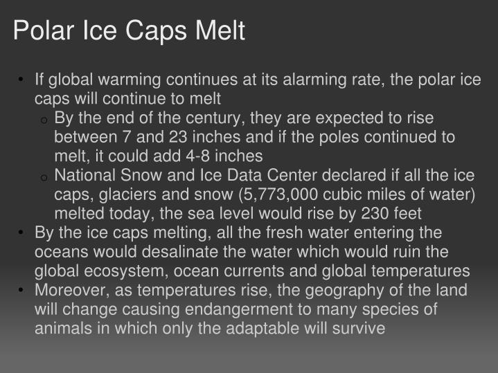 Polar Ice Caps Melt