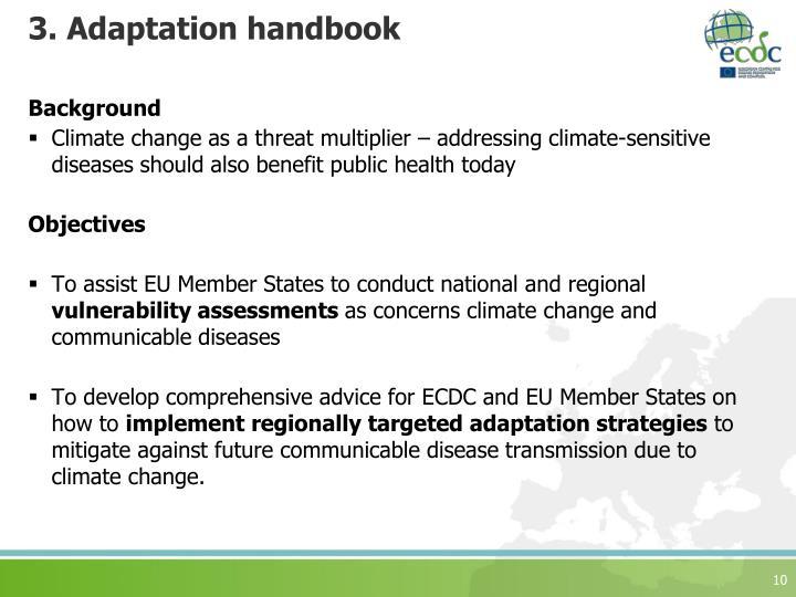 3. Adaptation handbook