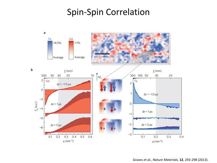 Spin spin correlation
