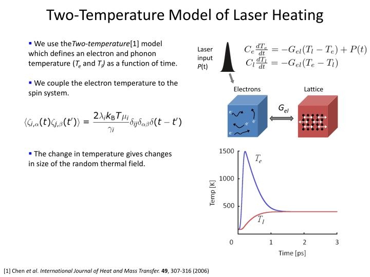Two-Temperature Model of Laser Heating