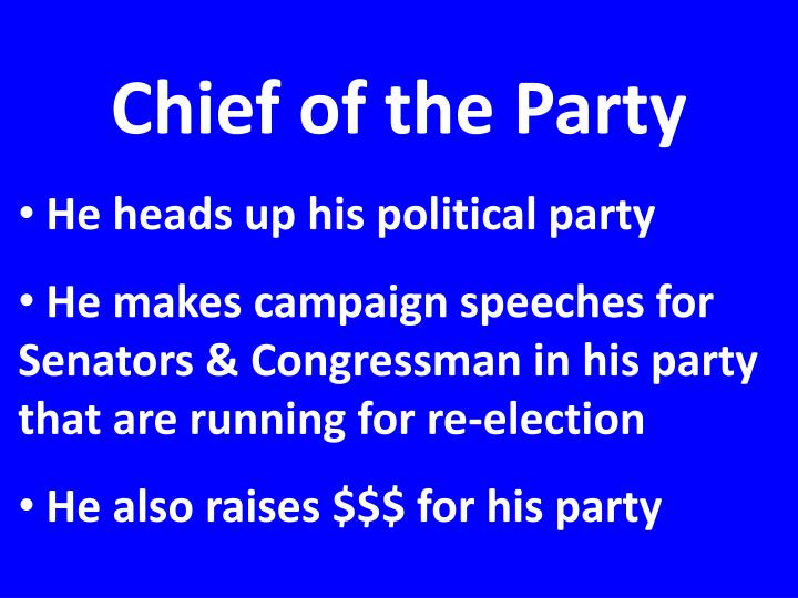 Chief of the Party