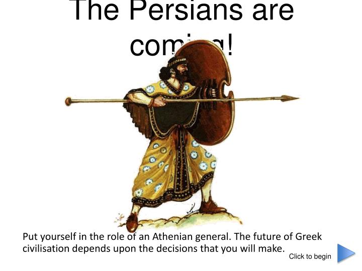 the persians are coming n.