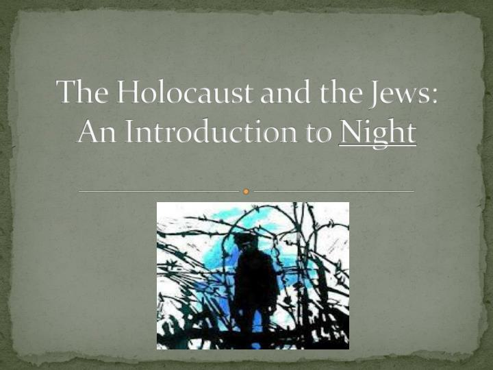 an introduction to the way the western world and the jews after the holocaust Christian persecution of jews over  the jews of western europe began to  hardships it experienced after world war i jews had been the republic's.