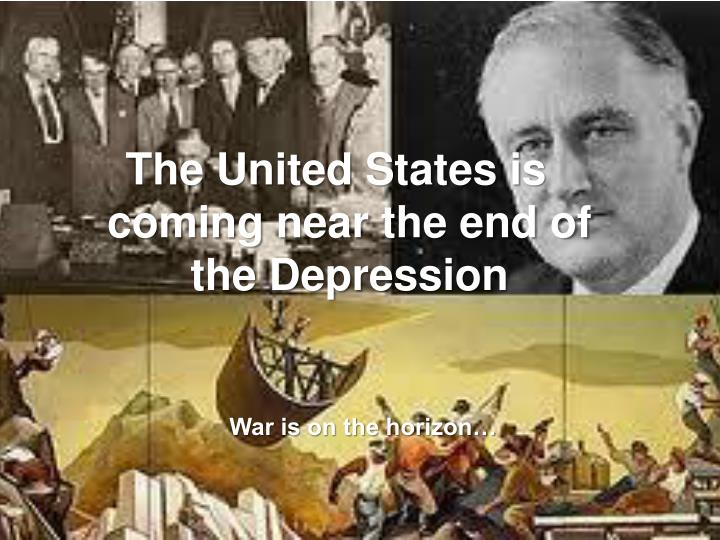 the great depression in the united states of america