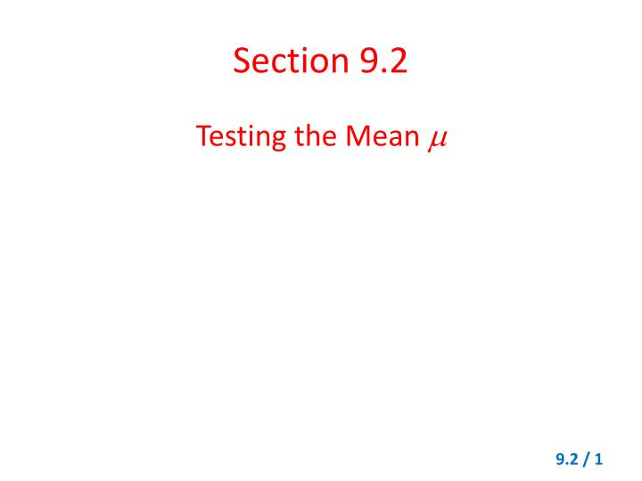 section 9 2