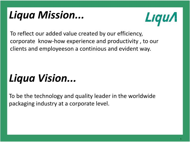 Liqua Mission...
