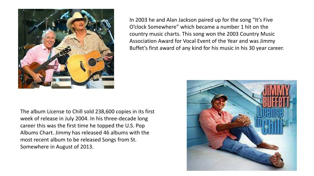 PPT - Jimmy Buffet Singer / Songwriter PowerPoint Presentation - ID