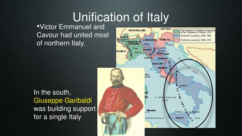 PPT - Unification of Italy PowerPoint Presentation, free ...