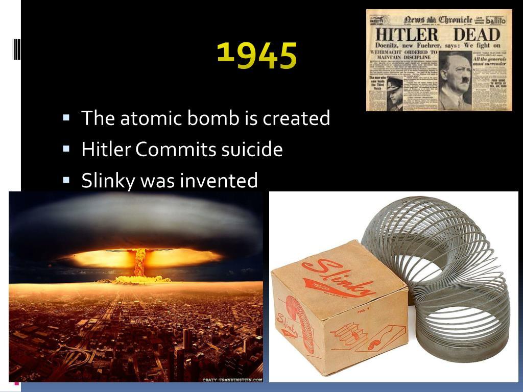 PPT - 1940s PowerPoint Presentation - ID:1885415