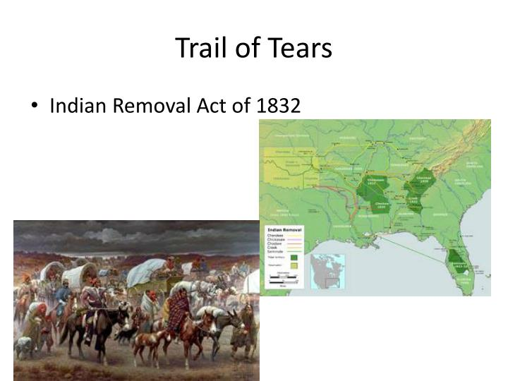 trail of tears forceful removal of indians The removal of the cherokees was a product of the demand for arable land during the rampant growth of cotton agriculture in the southeast, the discovery of gold on cherokee land, and the racial prejudice that many white southerners harbored toward american indians.