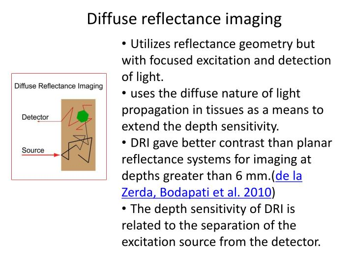 Diffuse reflectance imaging