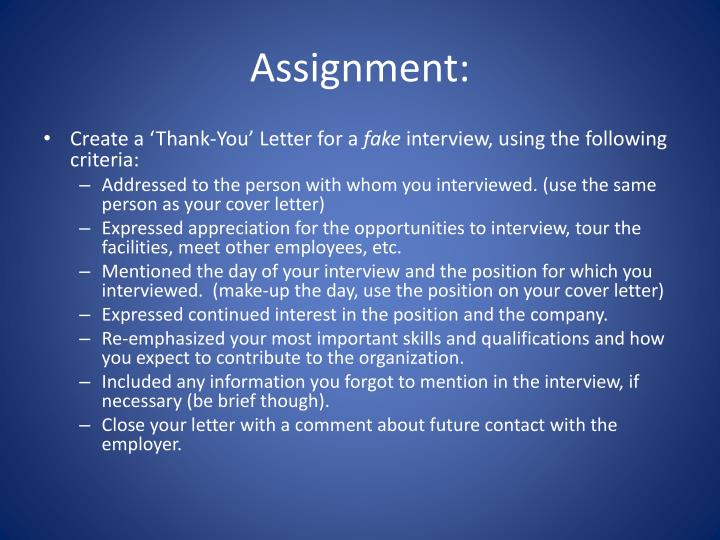 Ppt Thank You Letter Powerpoint Presentation Id1885733