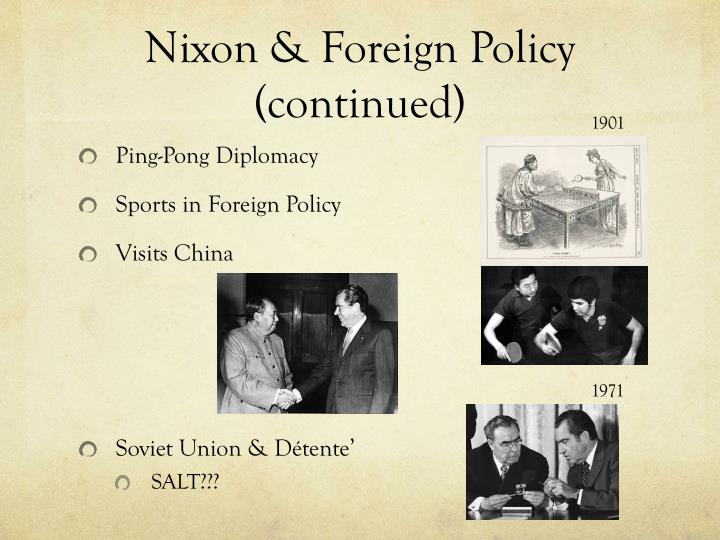 Nixon & Foreign