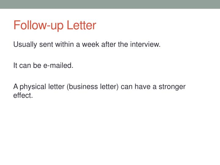 follow up letter n.