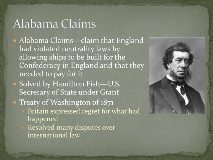 Alabama Claims