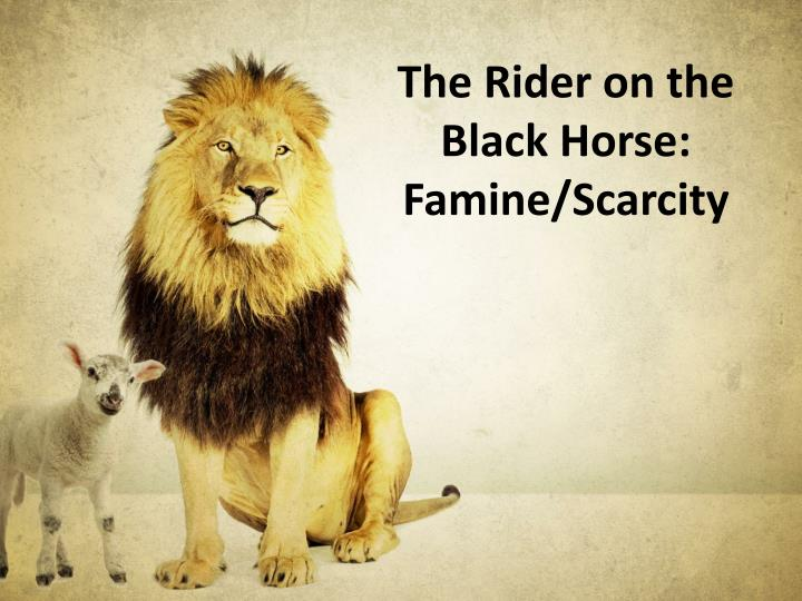 The Rider on the Black Horse: