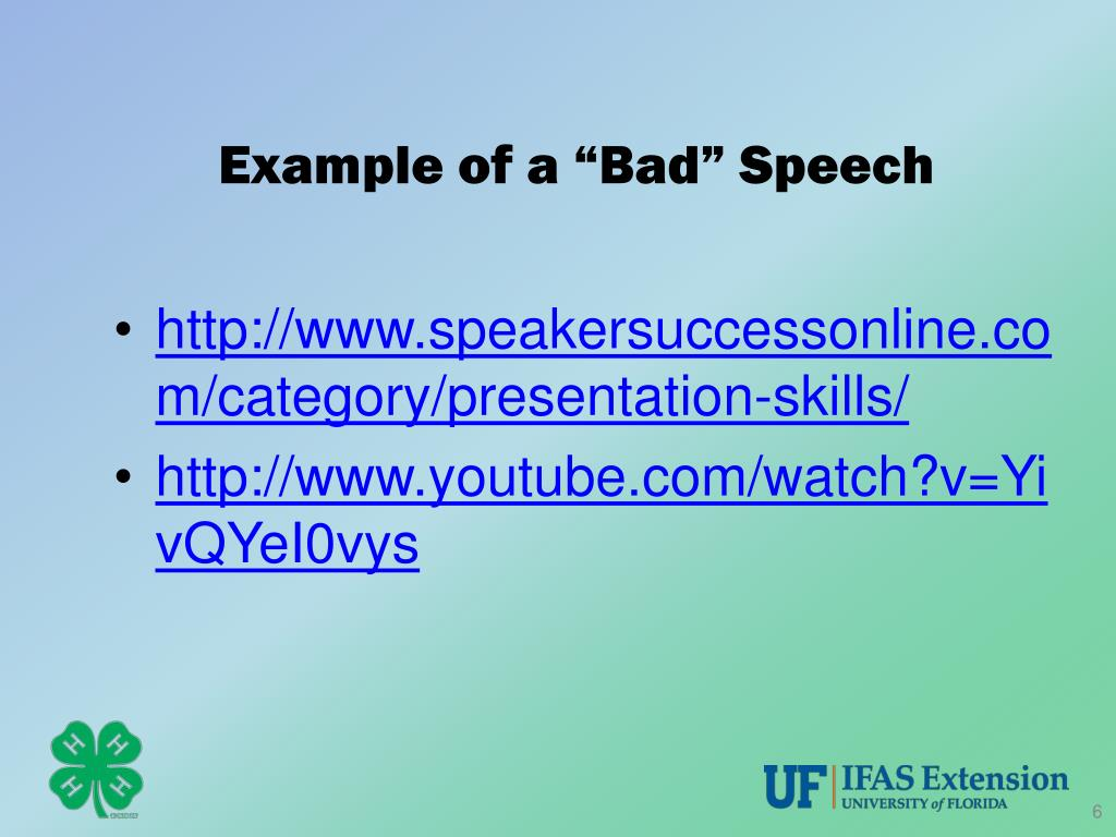 PPT - 4-H/Tropicana Public Speaking Program PowerPoint ...