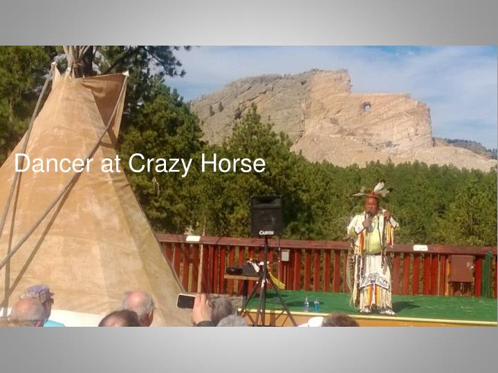 Dancer at Crazy Horse