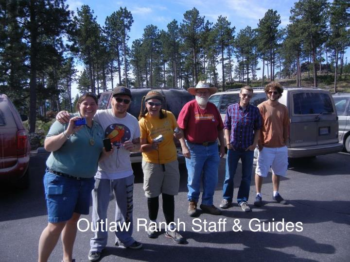 Outlaw Ranch Staff & Guides