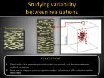 studying variability between realizations4