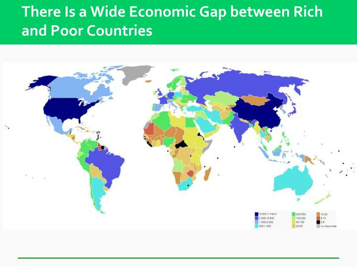 globalization and the increase of the gap between the rich and poor countries Globalization may increase inequality there is a considerable debate among economists about the extent to which globalization—and specifically the liberalization.