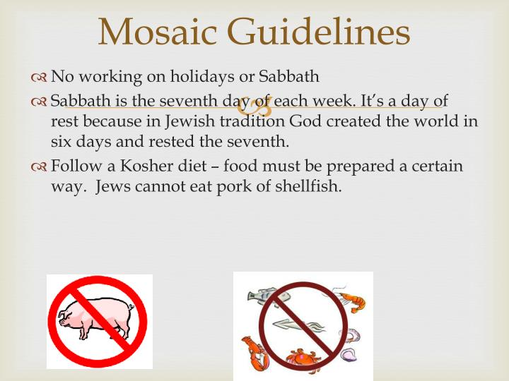 Mosaic Guidelines